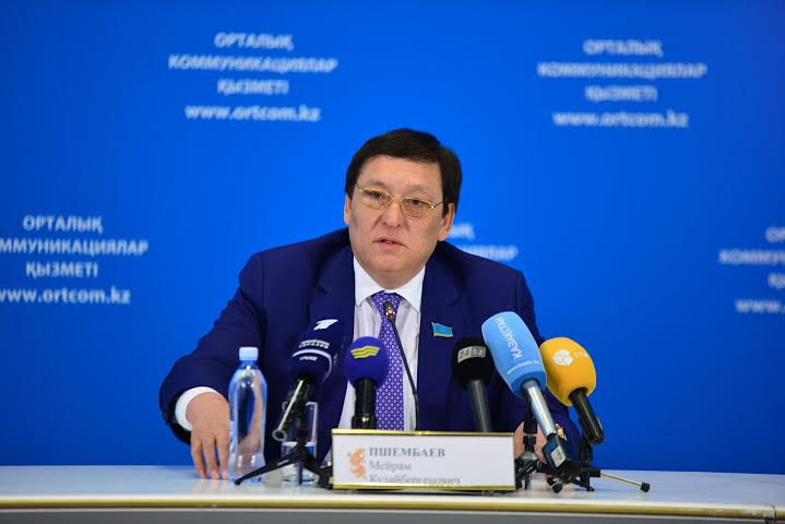 "Chairman of OUL ""Union of Mechanicians of Kazakhstan"" M. K. Pshembayev"