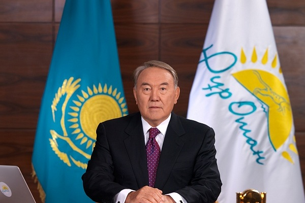 """The President of the Republic of Kazakhstan"" N.A Nazarbayev"