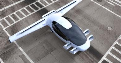 В Германии протестировали летающий электромобиль с вертикальным взлетом