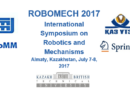 "International Symposium on Robotics and Mechanisms ""ROBOMECH 2017"""