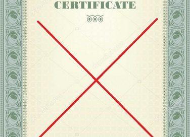Отзыв сертификата СТ-KZ