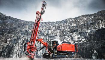 Sandvik Mining and Rock Technology представила новую интеллектуальную буровую установку